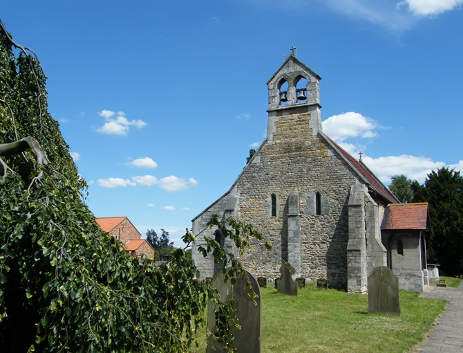 St Helena Austerfield Church of William Bradford