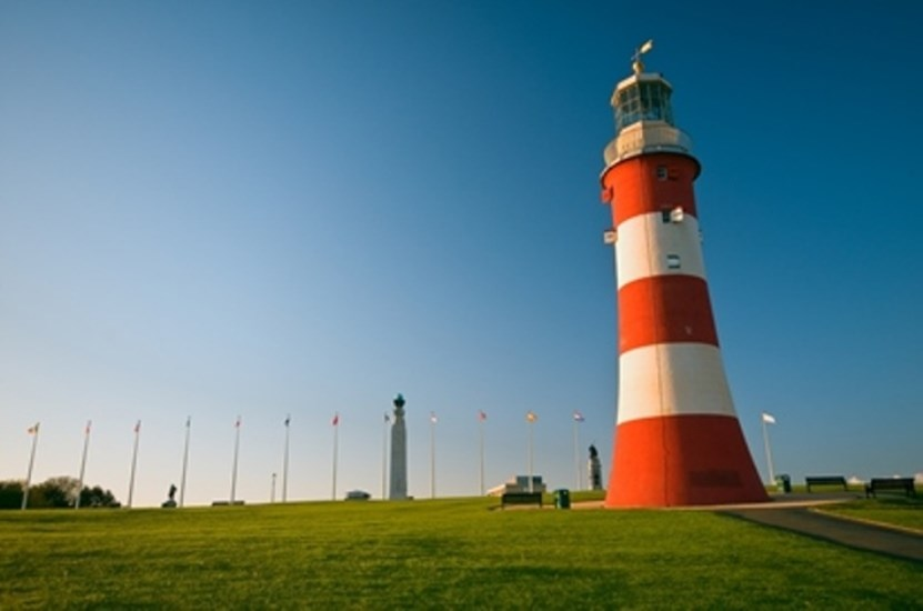 Smeatons Tower Plymouth Hoe