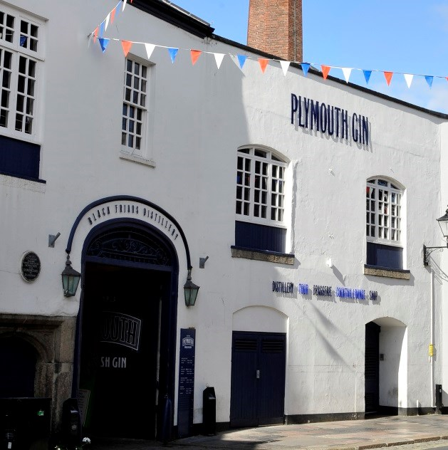 The Black Friars Plymouth Gin Distillery