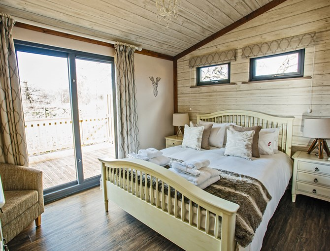 Sherwood Hideaway Bedroom