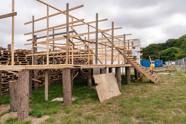 Mayflower replica being built