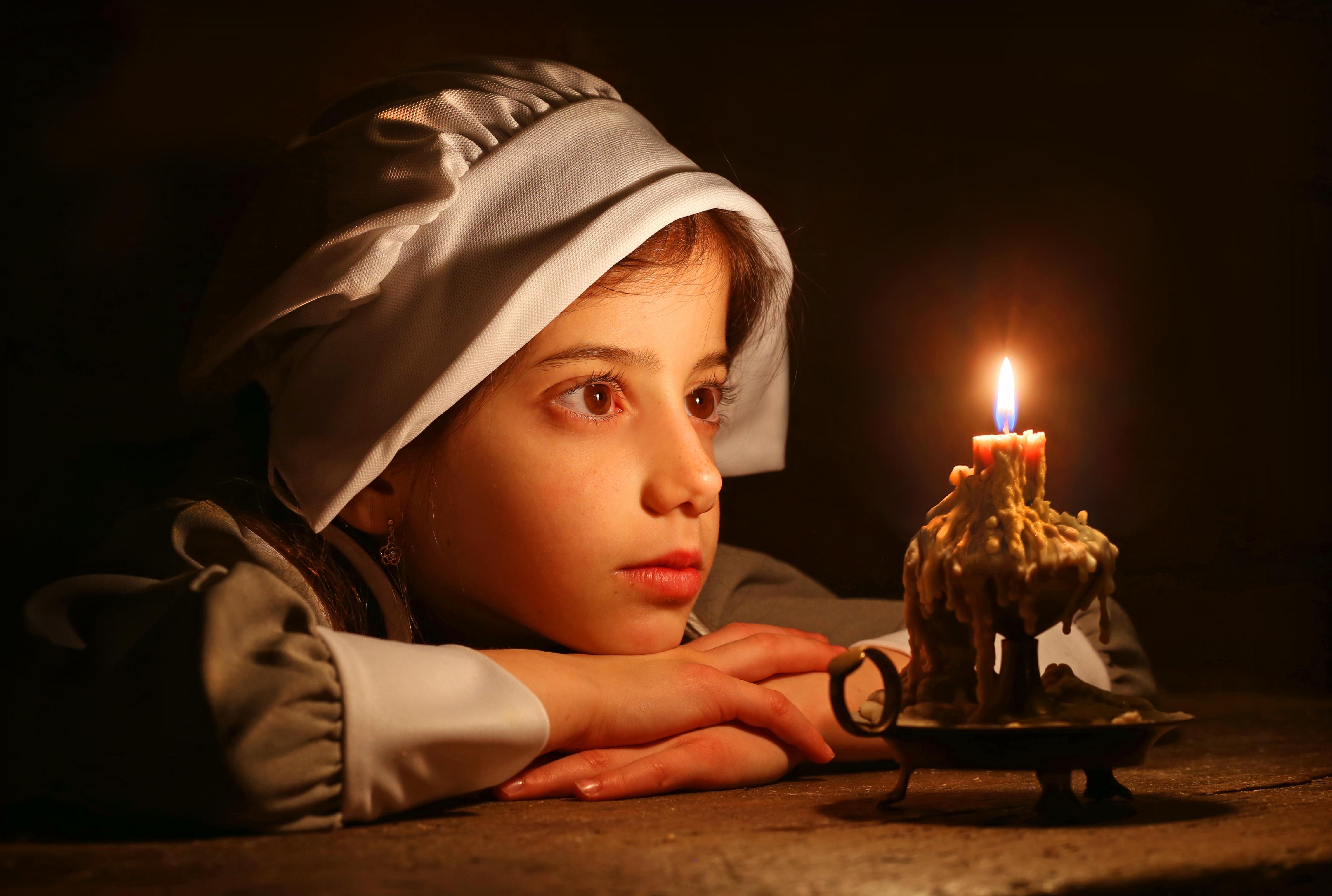 Picture pilgrim girl — photo 12