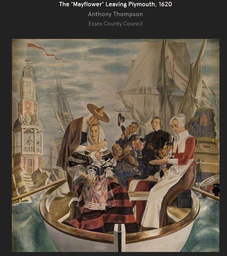 Women Of The Mayflower Mayflower